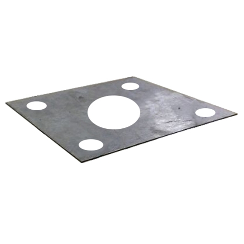Screw Positioning Plate For Steel Square Light Poles